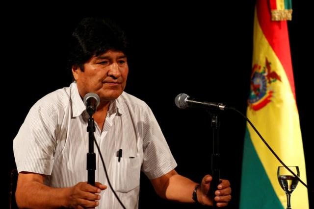 Evo Morales dio dos conferencias de prensa y numerosas entrevistas en Buenos Aires desde su llegada (REUTERS/Agustin Marcarian)