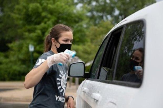 Testeos de temperatura en Milford, Michigan, Estados Unidos REUTERS/Emily Elconin