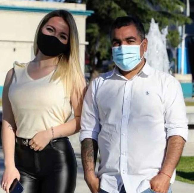 Stefania Desirée Purita Díaz, vacunada a los 18 años