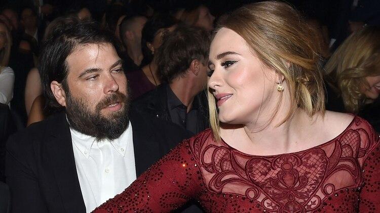 Adele y Simon Konecki están separados desde abril de este año 8 (AFP)