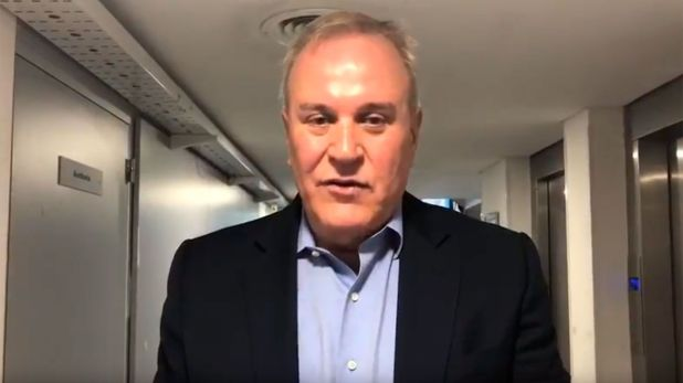 El financista Walter Grenon, el mayor aportante de la campaña de Alberto Fernández.