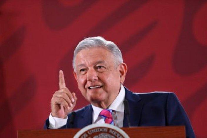 El presidente de México, Andrés Manuel López Obrador, durante una rueda de prensa matutina, en Ciudad de México (Foto: EFE/Sáshenka Gutiérrez/Archivo)