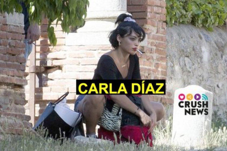 """Díaz ya colaboró con Ester Expósito, la popular """"Marquesita"""" (Foto: Crush News)"""