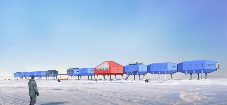 Base Halley de la British Antarctic Survey