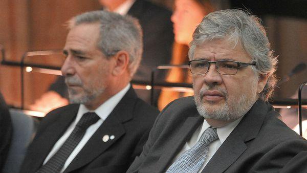 Juan Pablo Schiavi durante el juicio que se celebró en 2015