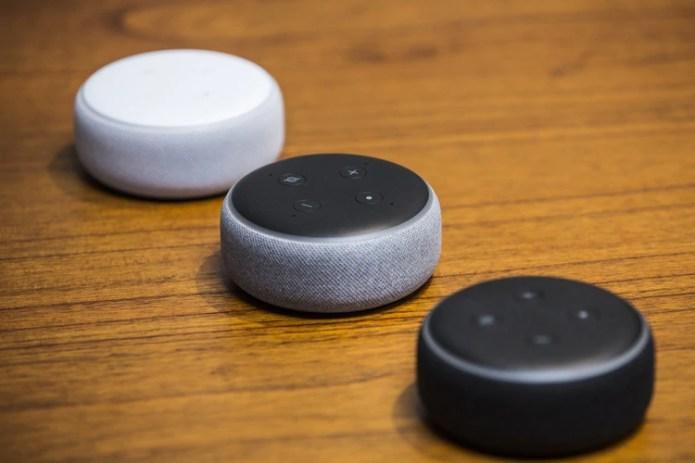 Amazon Echo Dot (Andrew Burton/Bloomberg)