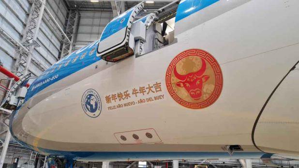 Aerolíneas Argentinas - avión - vacunas - china - vacunas de Sinopharm