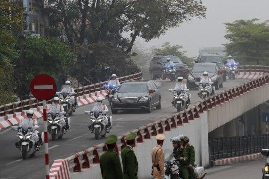El convoy de Kim Jong-un(REUTERS/Kim Kyung-Hoon)