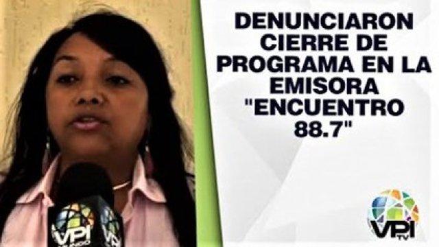 VPITV, un medio censurado en Venezuela, cuando denunció el cierre de un programa en Nueva Esparta