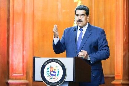 Nicolas Maduro. Miraflores Palace/Handout via REUTERS/File Photo
