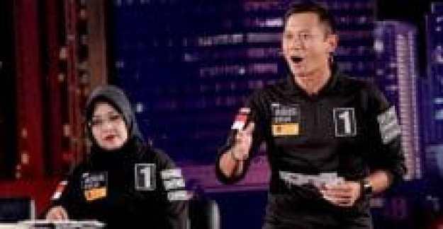 agus harimurti yudhoyono bersemangat memaparkan visi misi