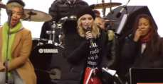 madonna speech againts donald trump
