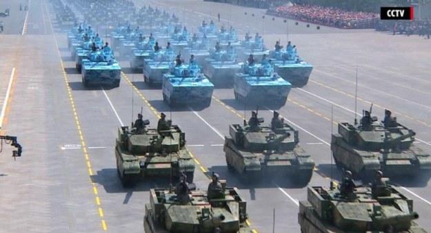 parade militer china
