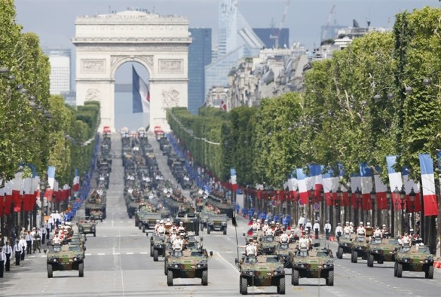 parade militer perancis