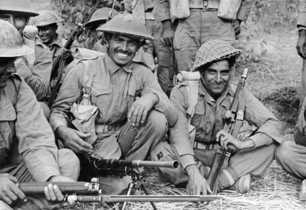 tentara india masa perang dunia 2