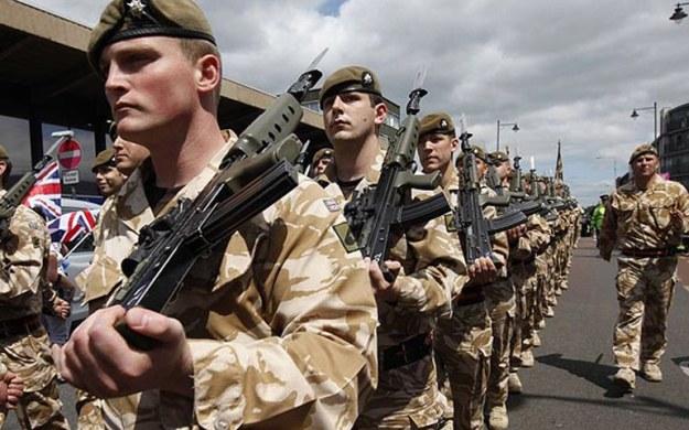 united kingdom military army forces