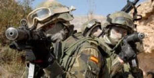 pasukan khusus uoe milik spanyol ini dikabarkan dekat dengan militer amerika serikat