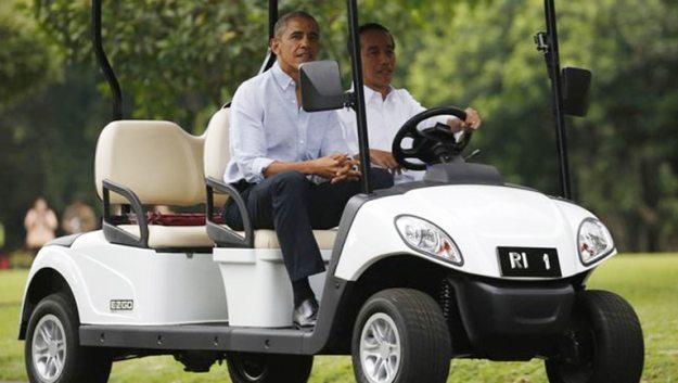 obama di indonesia di istana bogor