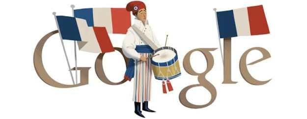 google doodle bastille day 2012