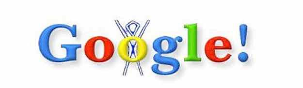 google doodle pertama
