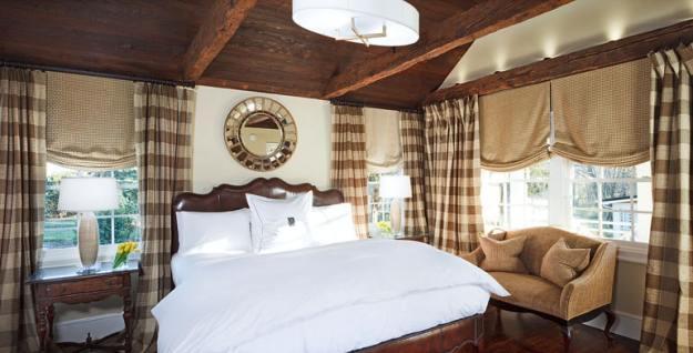 suasana kamar The Inn At Willow Grove salah satu hotel terbaik dunia 2017
