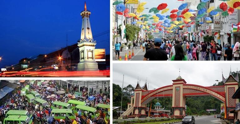 149 Julukan Kota di Indonesia Terlengkap