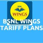 BSNL Wings tariff plans