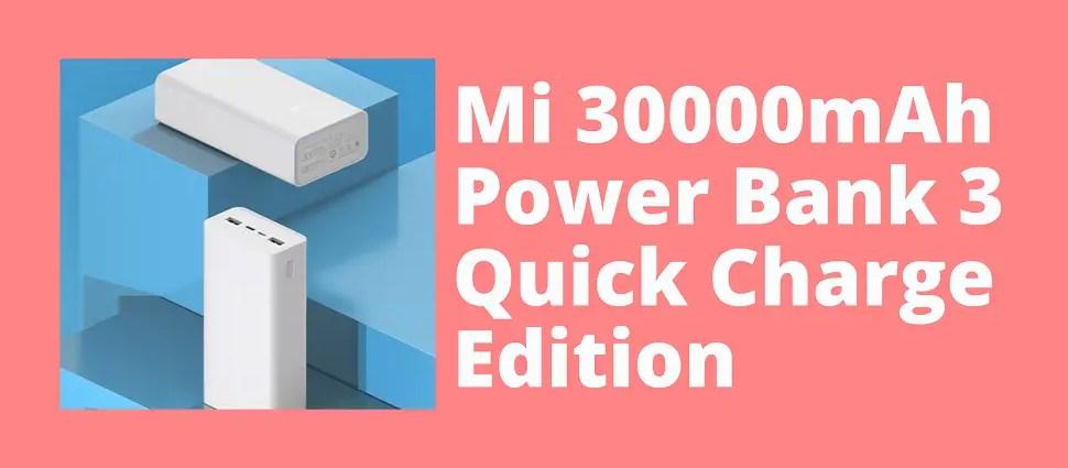 Mi 30000mAh Power bank 3