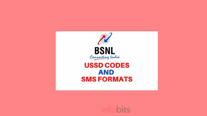 BSNL USSD Codes and SMS Formats