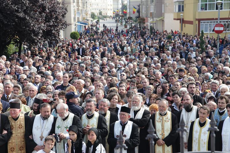 Sfintirea Bisericii Sf. Maria Blaj