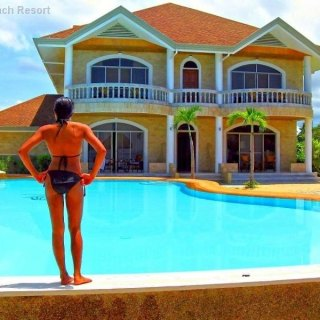 Bohol Linaw Beach Resort Pool