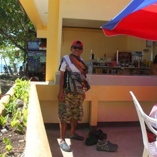Alona Beach Panglao Island Bohol Philippines