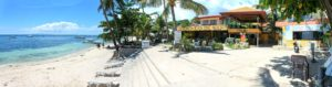 lost horizon beach dive resort panoramic alona beach bohol Low travel season