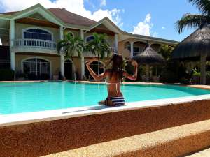 Linaw Beach Resort Bikini 010