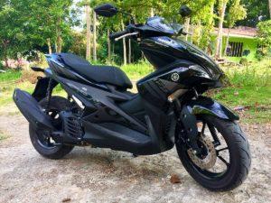 Yamaha Aerox 155cc FI Total Automatic