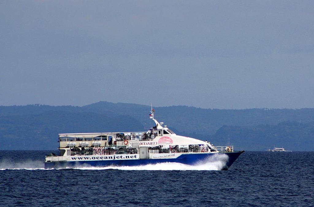 Oceanjet tickets bohol cebu