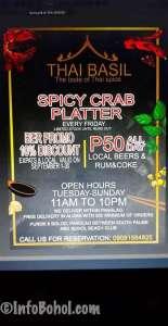 The Thai Basil Restaurant Panglao Island Bohol Philippines040