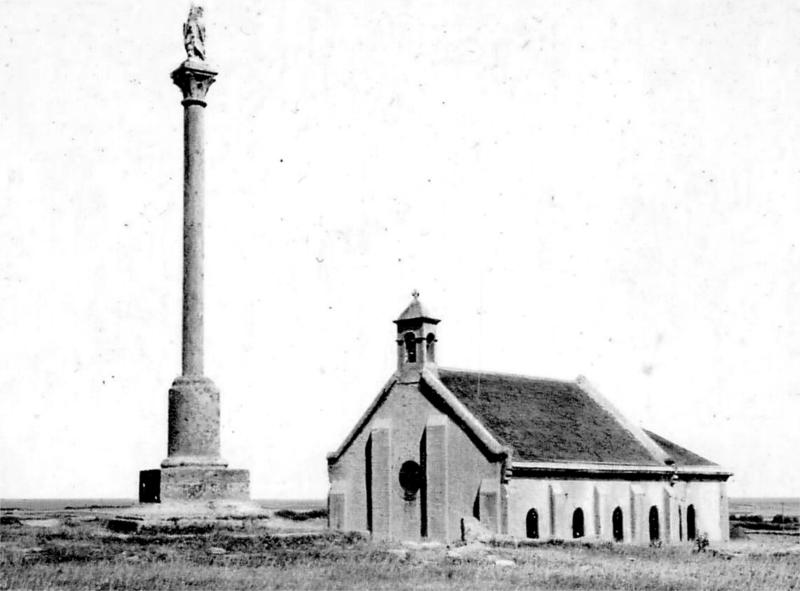 Ville de Quiberon (Bretagne) : chapelle Saint-Clément.