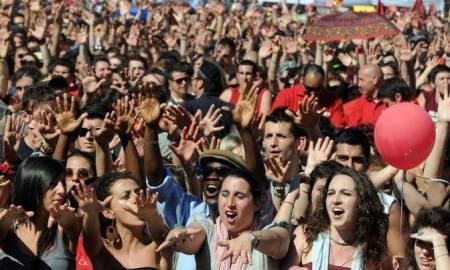Roma 01-05-2011.Concerto primo maggio 2011.Nella foto Eugenio Finardi