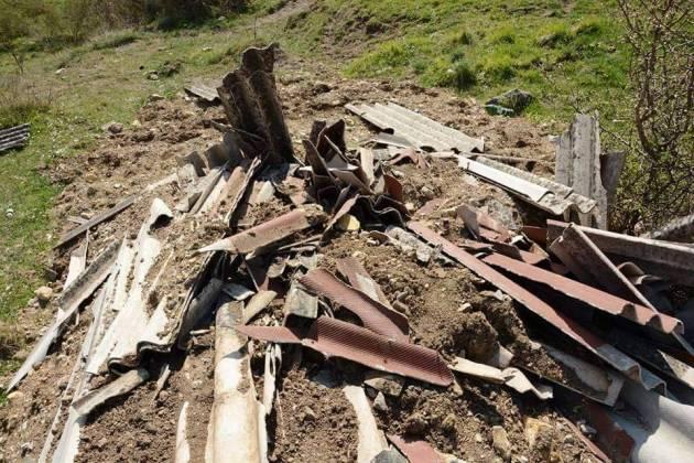 I rifiuti abbandonati - la situazione nel 2015