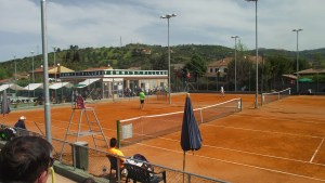 Panoramica del Tennis Village