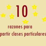 10 razones para impartir clases particulares
