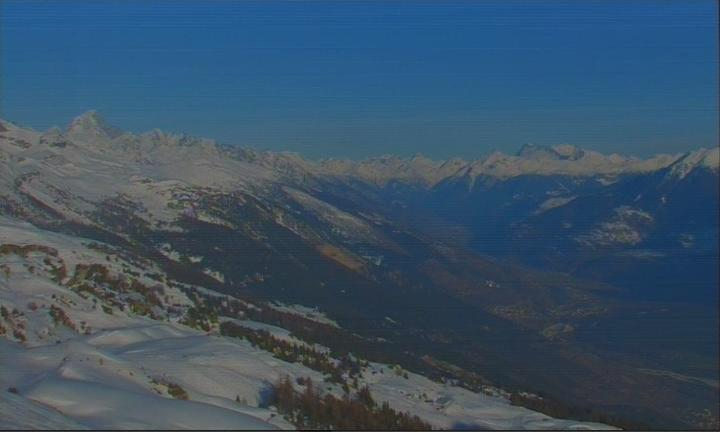 Crans-Montana (to South-East)