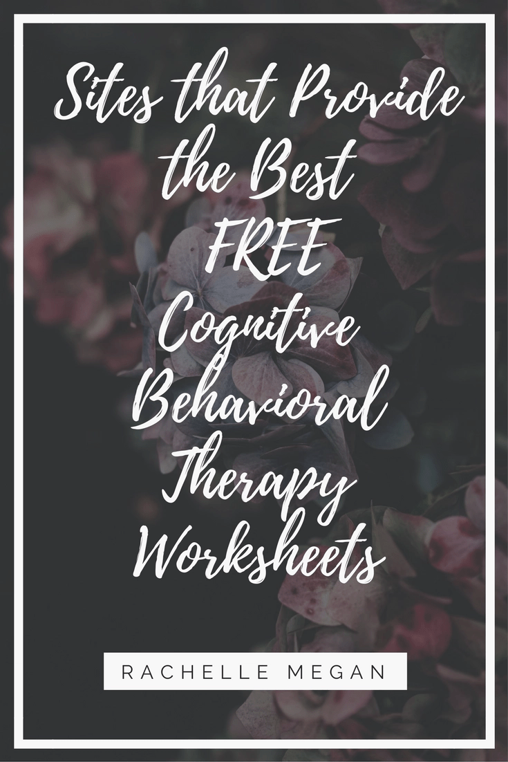 Free Cognitive Behavioral Therapy Worksheets