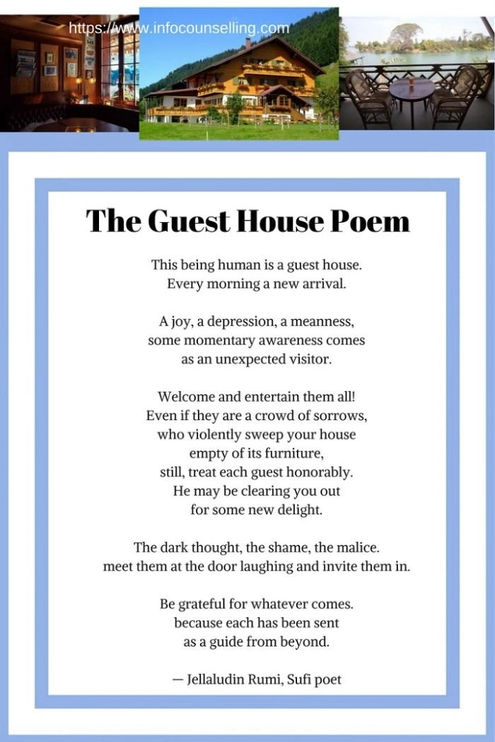 the guest house poem rumi