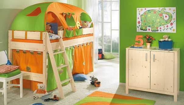 Eye-catching children room