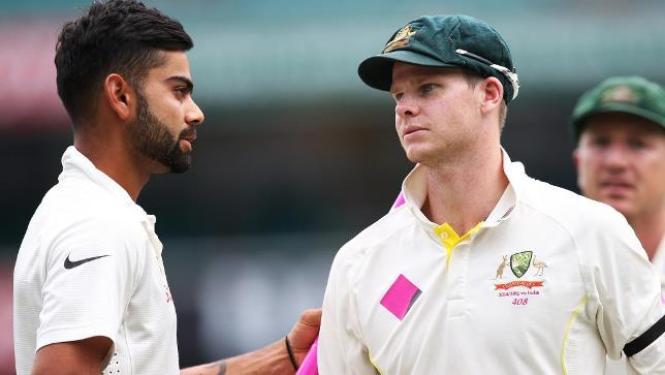 India captain Virat Kohli and Australia captain Steve Smith