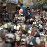 PM celebrates Diwali with jawans of Indian Army and BSF,