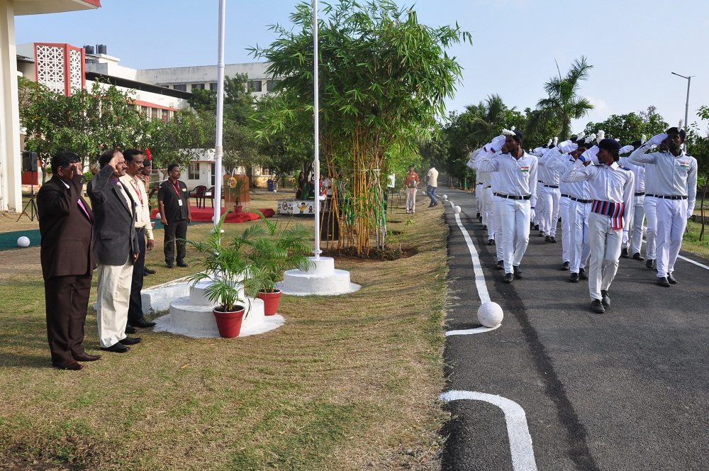 HCAS celebrates 70th Republic Day grandly