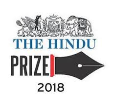 AWARDING OF THE HINDU PRIZE '18 FOR FICTION AND NON-FICTION OF THE LIT FOR LIFE'19